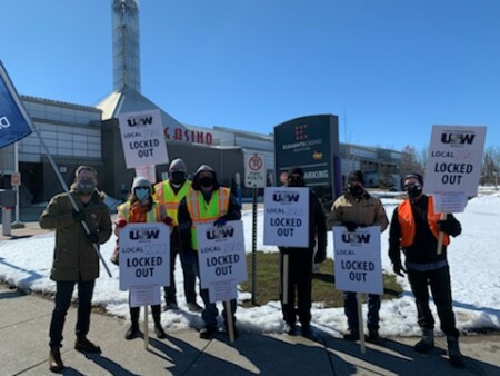 Security Guards Locked out at Flamboro Casino in Brantford