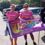 Women of Steel attend Sudbury Pride parade