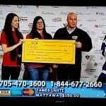 Local 2020 Donates to Lion Clubs Christmas Telathon
