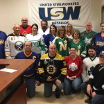 USW Local 2020 honours Humboldt Broncos on Jersey Day.